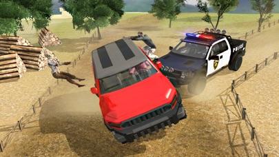 4 × 4 越野驾驶模拟器  山驱动器 3D App 截图