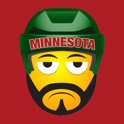 Minnesota Hockey Stickers & Emojis