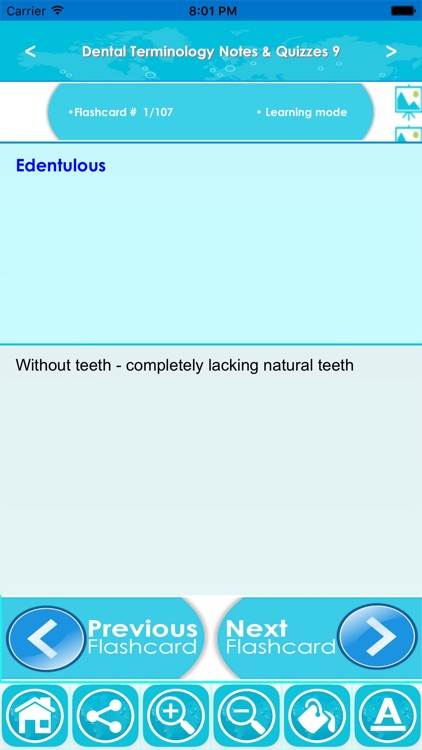 Dental Terminology For Self Learning : 2300 Terms screenshot-3