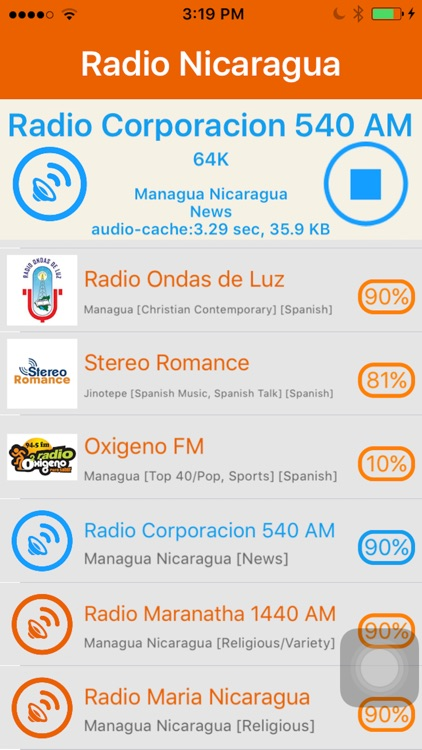 Radio Nicaragua - Radio NI screenshot-4