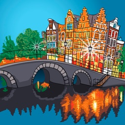 Амстердам 2017 — офлайн карта, гид, путеводитель!