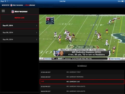 Watch NFL Network screenshot 3