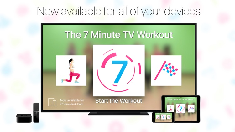 7 Minute TV Workout screenshot-1