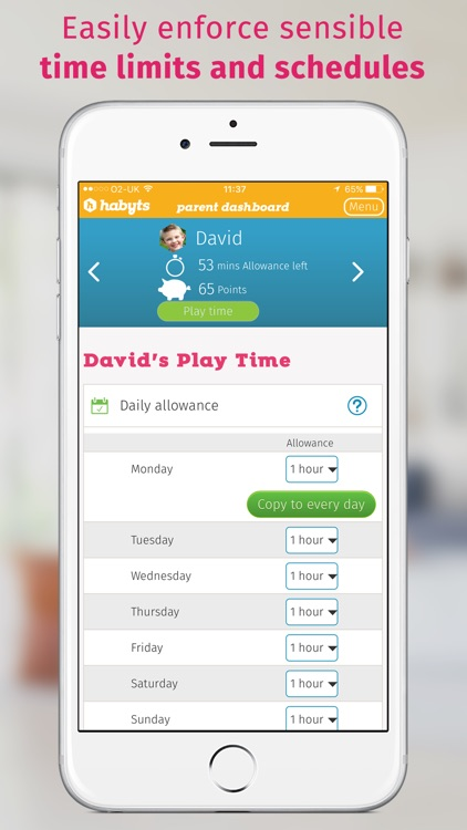 Habyts - Screen Time Made Easy