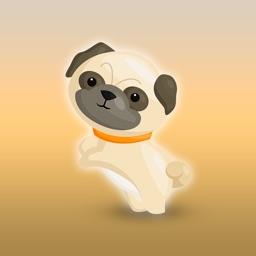 Pug Emoji & Stickers