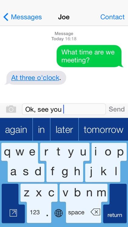 SuperKeys Accessible Keyboard with assistive keys screenshot-4