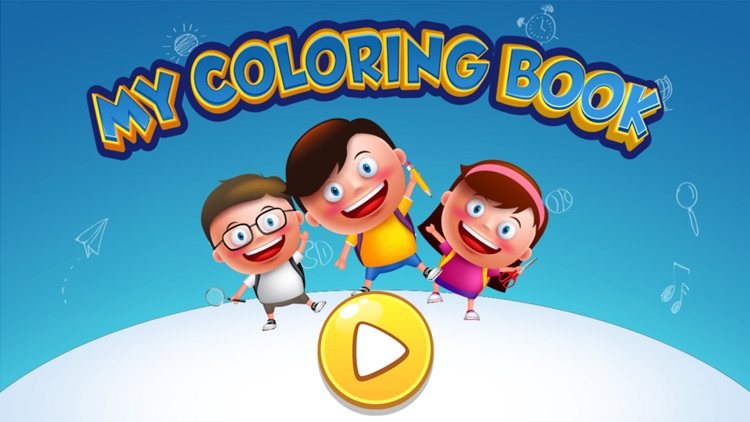 My Coloring Book: Girls ~ Fun Drawing Game by Narisara Rattanalaor