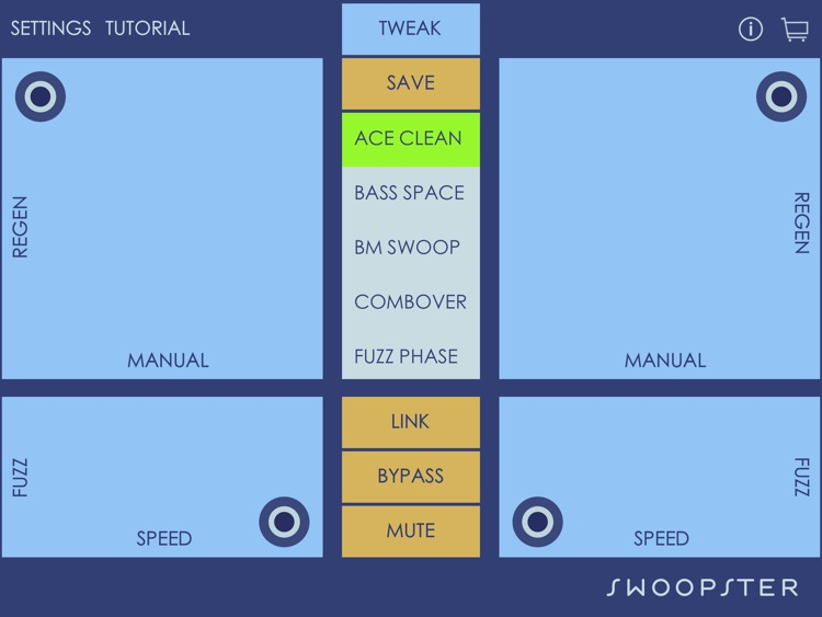 Swoopster - Fuzz Flanger Effects Processor
