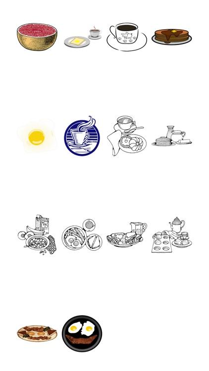 Breakfasts Sticker Pack