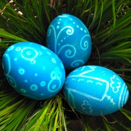 Happy Easter • Greeting cards and stickers