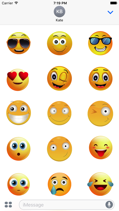 Animated Smiley Stickers screenshot two