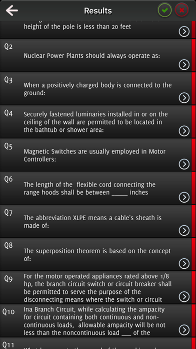 Journeyman Test Questions + NEC Code screenshot 2