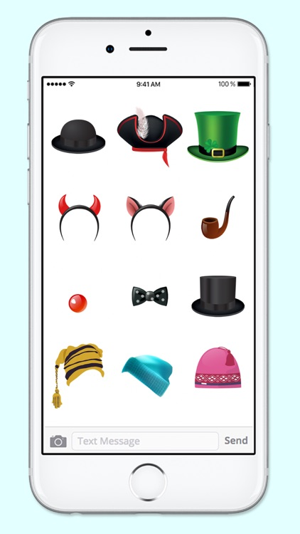 Lots of Hats and Fun Disguises Sticker Pack screenshot-3