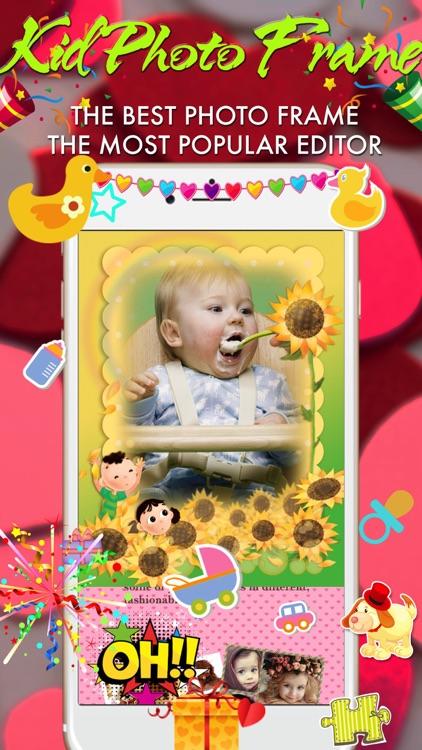 Baby Photo Frame- Wonder Photo, Cute Frame screenshot-3