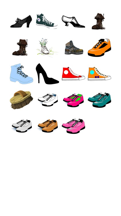 Shoes Sticker Pack!