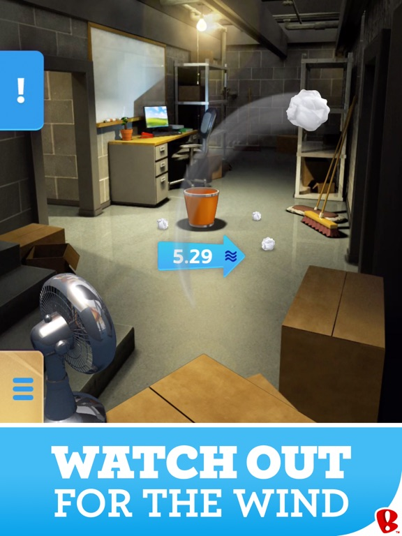 Paper Toss screenshot 7