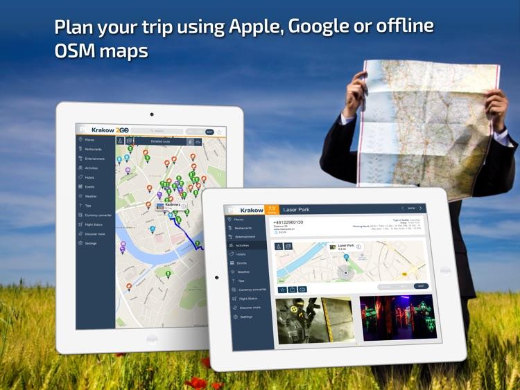 Krakow Travel Guide & offline city map screenshot-3
