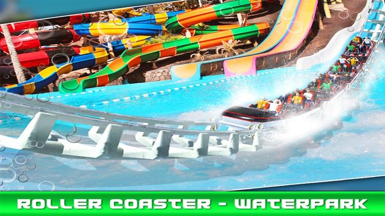 Water Park - Roller Coaster screenshot-3