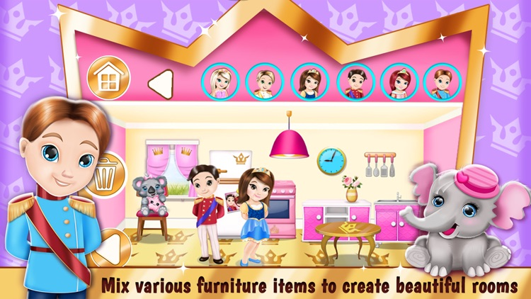 Princess Room Decoration Game – Dollhouse Designer