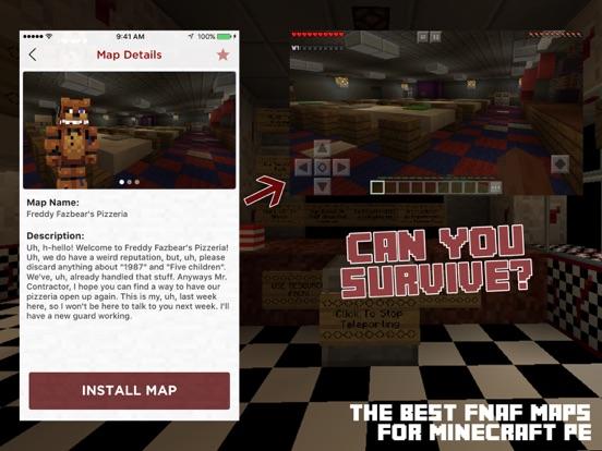 FNAF Maps For Minecraft PE App Price Drops - Die besten maps fur minecraft pe