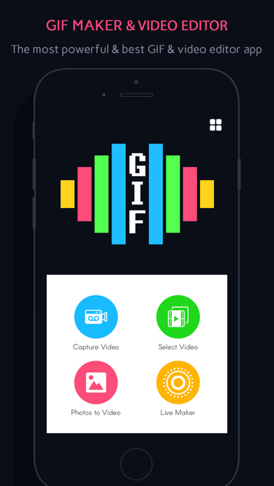 GIF Maker shop:Photo to GIF - Video editor and GIF
