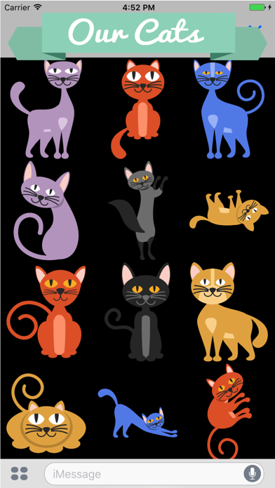Huge Cat Sticker Pack screenshot one