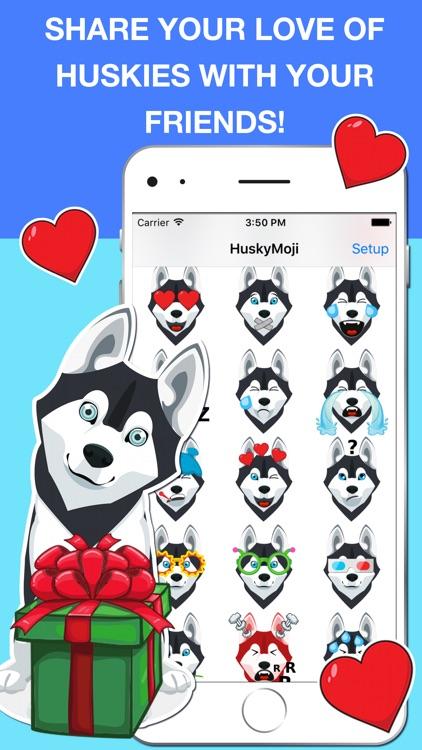 HuskyMoji - Siberian Husky Emoji Keyboard Stickers