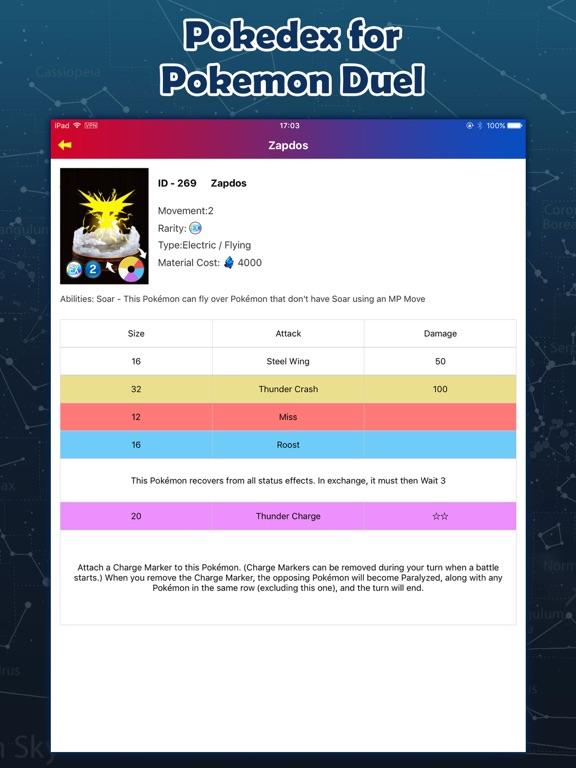 Pokedex for Pokemon Duel - Figures & Plates-ipad-1