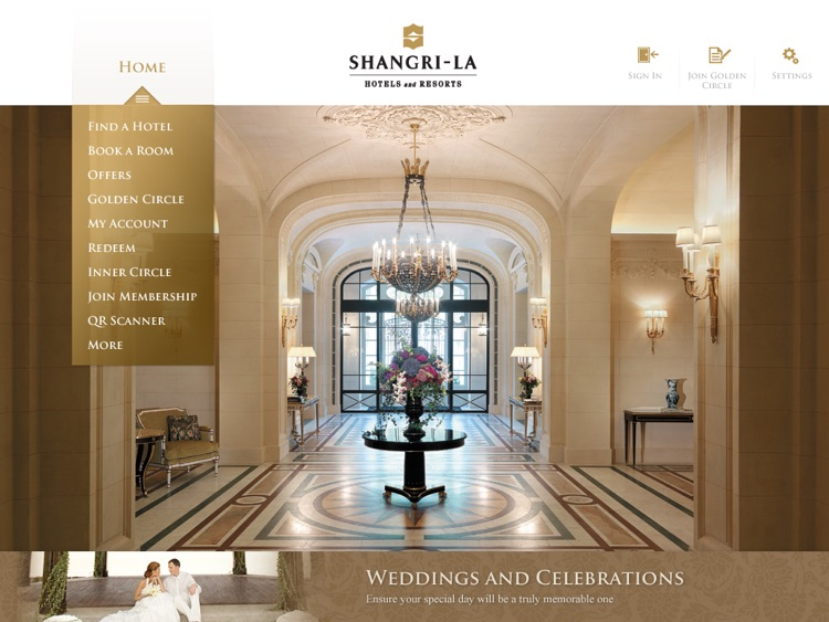 Shangri-La Hotels & Resorts for iPad