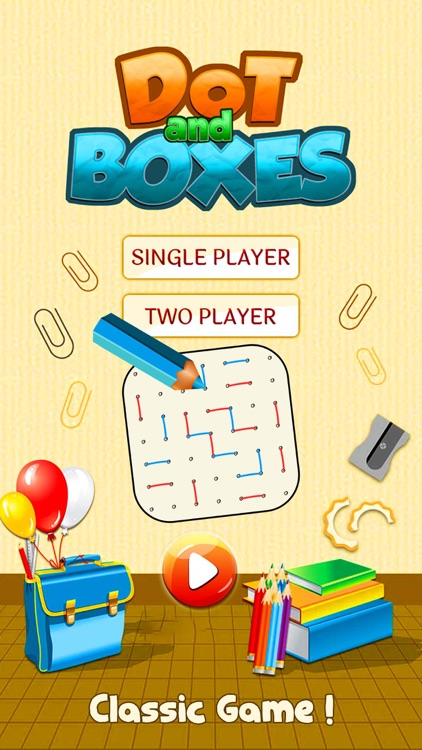 Dot and Boxes - Sqares Classic Board Game screenshot-0