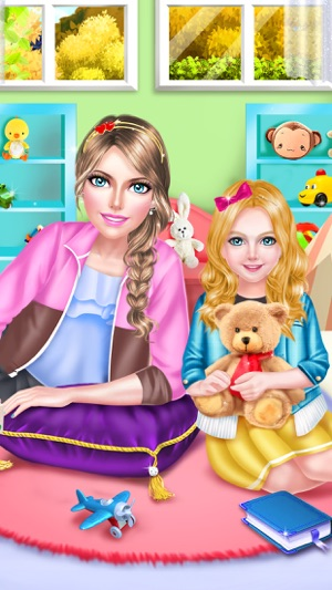 Super nanny baby care salon babysitter play day on the app store screenshots voltagebd Gallery