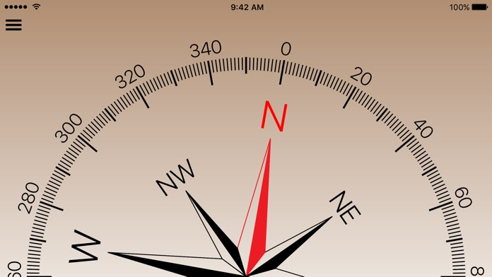 Compass for iPad and iPhone Screenshot
