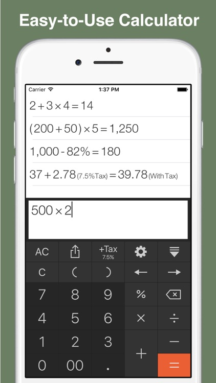 Calculator Pro - History Tape, Tax and Discount screenshot-4