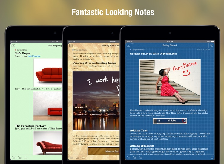 NoteMaster Lite for iPad screenshot-3