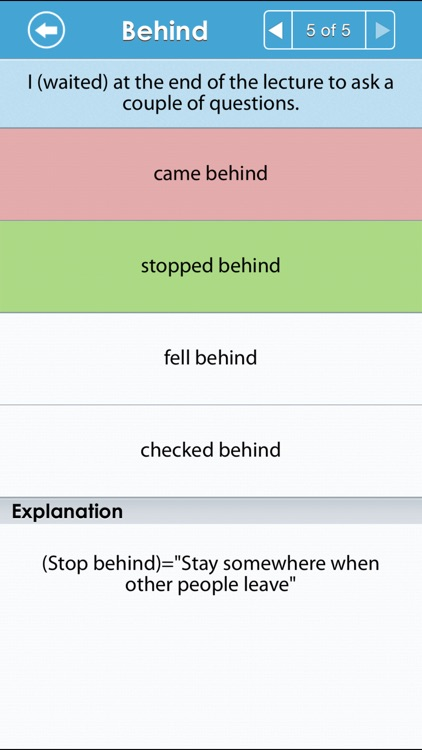 Grammar Up: Phrasal Verbs screenshot-3
