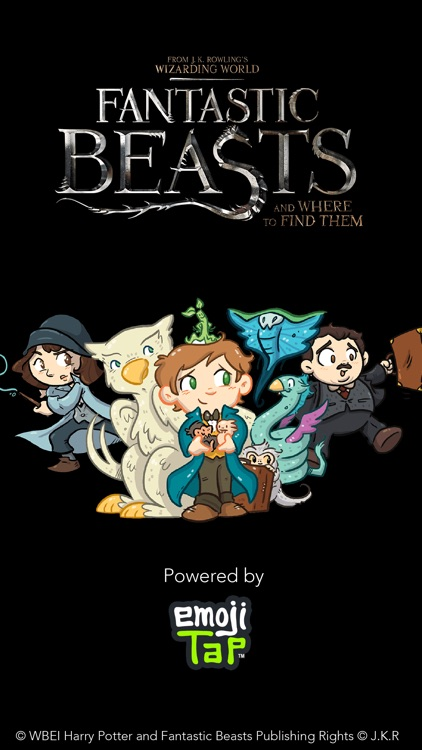 FANTASTIC BEASTS AND WHERE TO FIND THEM STICKERS screenshot-4