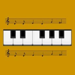 Learn Piano Notation - Train Sight Reading