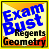 Exambusters - NY Regents Geometry Prep Flashcards Exambusters artwork