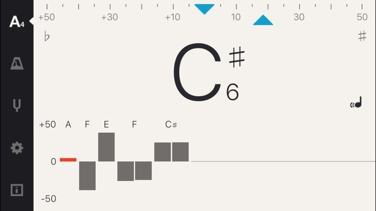 Cadenza: Tuner + Metronome screenshot-0