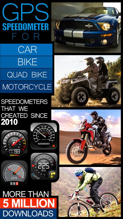 Speedometer FREE(Car speedometer, Bike cyclometer)