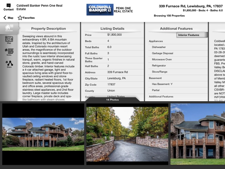 Coldwell Banker Penn One Mobile for iPad screenshot-3