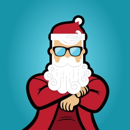 Bad Santa iMessage Stickers for Christmas