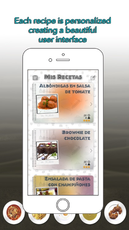 MR My Recipes - Recipes Organizer screenshot-1