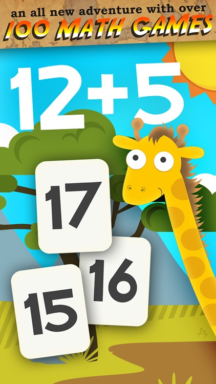 Animal Math 1st Grade Math screenshot-0