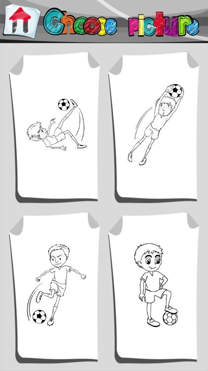 Football Coloring Book App by Ivan Vaskovic