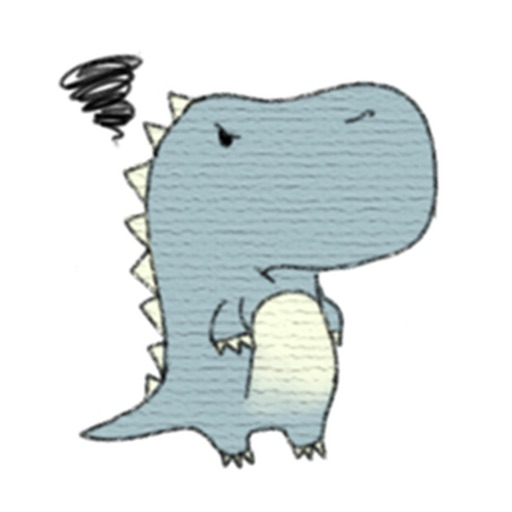 Lovely Dinosaur Stickers Pack