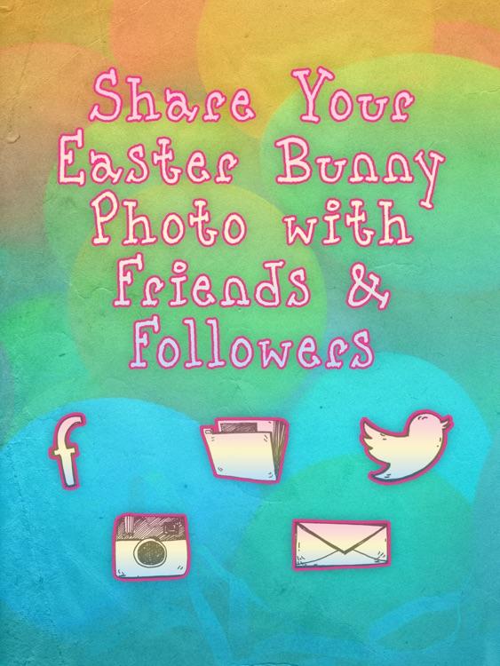 Easter Bunny Yourself Dress Up Social Photos screenshot-4