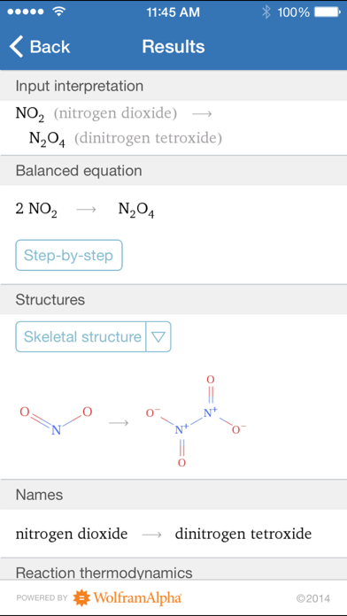 Wolfram General Chemistry Course Assistant App Profile