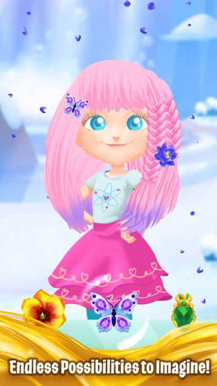 Barbie Dreamtopia - Magical Hair screenshot-3