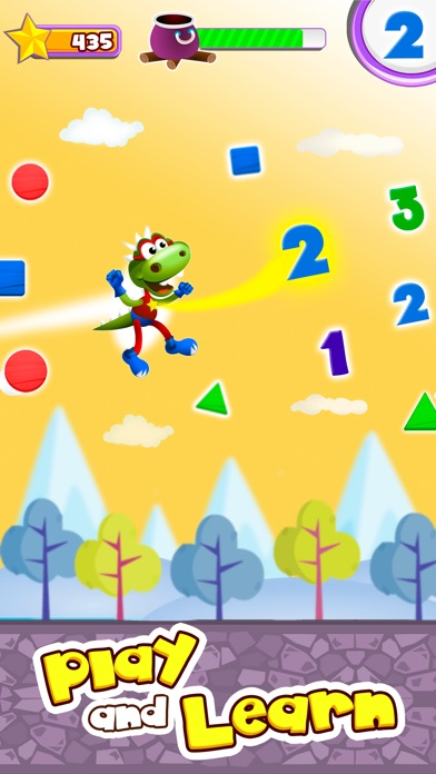 Dino Tim: Addition and subtraction for kids Screenshot 2